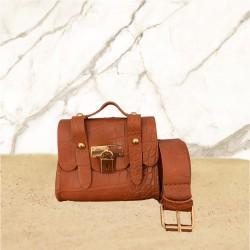 Crocy Brown Bag